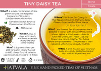 Tiny Daisy Tea Vietnam Card