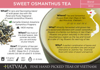 Sweet Osmanthus Tea Card