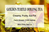 Golden Turtle Oolong Tea Vietnam