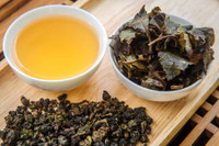 Golden Turtle Oolong Tea Display