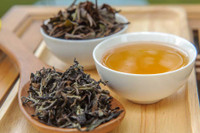Oriental Beauty Oolong Tea Dry, Wet, Cup