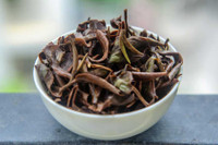 Oriental Beauty Oolong Tea Wet Leaves