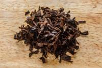 Black Jasmine Tea Vietnam Wet Leaves