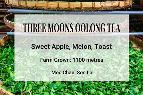 Three Moons Oolong Tea Vietnam