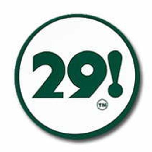 29! Logo Sticker, Twentynine Palms