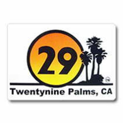 Twentynine Palms California Sticker