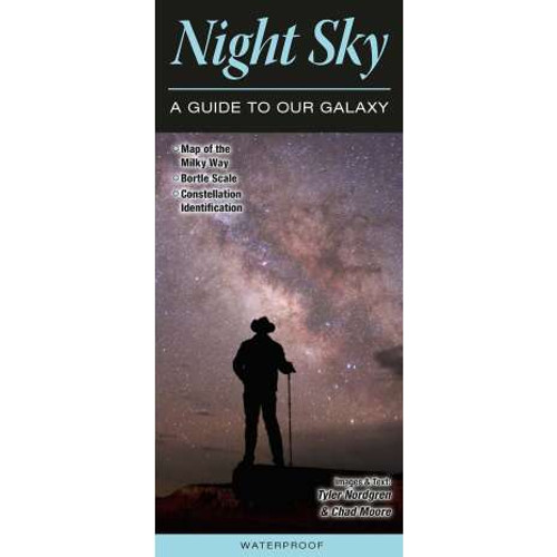Night Sky a Guide to Our Galaxy Waterproof Brochure