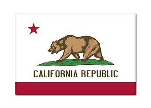 California Flag Magnet