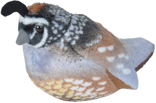 California Quail Wild Republic Audubon Birds Singing Birds Stuffed Animals