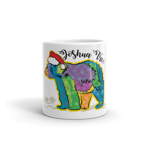 Santa California Bear Mug