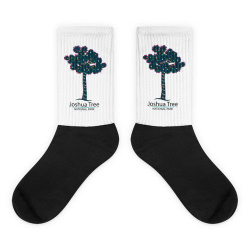 Joshua Tree Lit Tree Socks