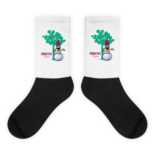 Hipster Snowman Socks