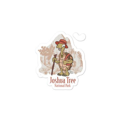 Joshua Tree Tortoise Bubble-free stickers