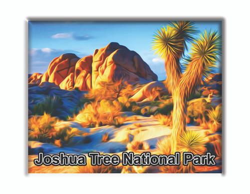 Joshua Tree National Park Rocks Magnet