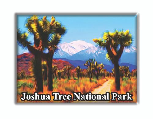 Joshua Tree National Park Mountain Magnet