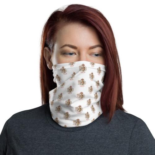 Joshua Tree Tortoise Face Mask, white