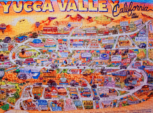 Yucca Valley Community Puzzle Map