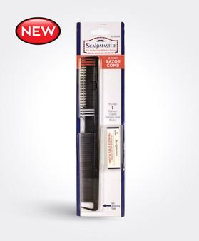 Scalpmaster 2 Way Razor Comb