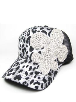 Fleur de LIs Cheetah Baseball Cap