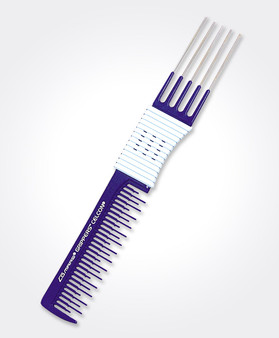 Teasing Comb with Pick