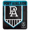 Port Adelaide Polar Fleece Rug