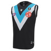 Official Port Adelaide Macron 2021 Youth Home Guernsey Sleeveless