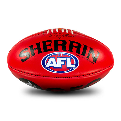 Port Adelaide Sherrin Red AFL Team Gameball