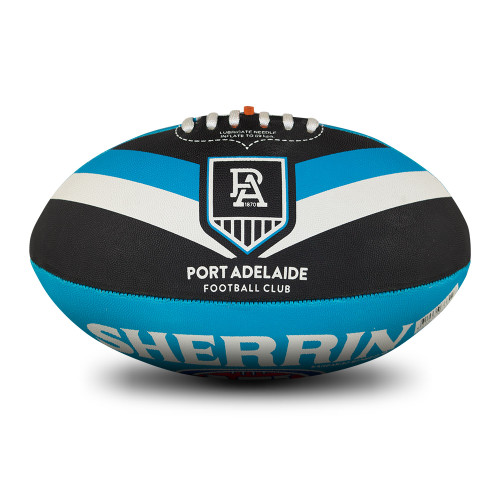 Port Adelaide Sherrin All Surface Synthetic Size 5