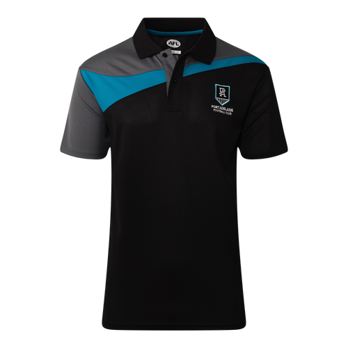 Port Adelaide Mens Premium Polo