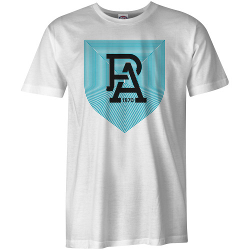 Port Adelaide Mens Shield Tee