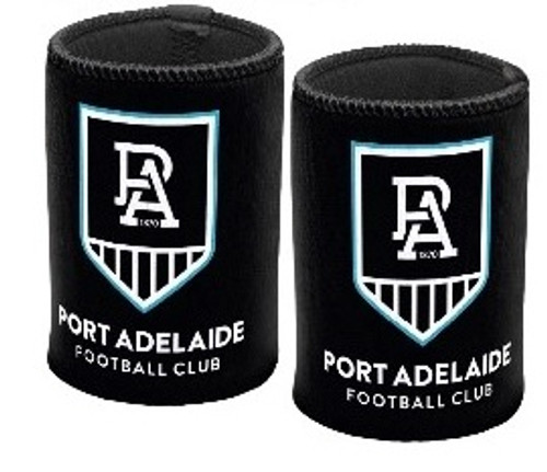 Port Adelaide Shield Logo Stubby Holder