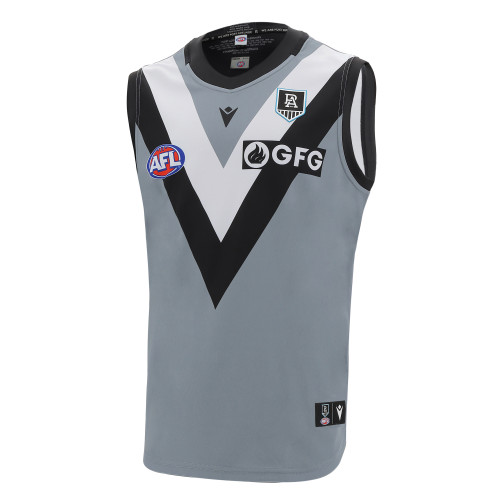 Official Port Adelaide Macron 2021 Youth Clash Guernsey