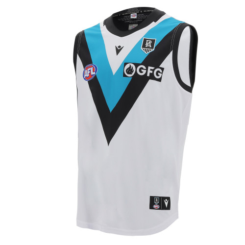 Port Adelaide Macron 2021 Youth JLT Guernsey