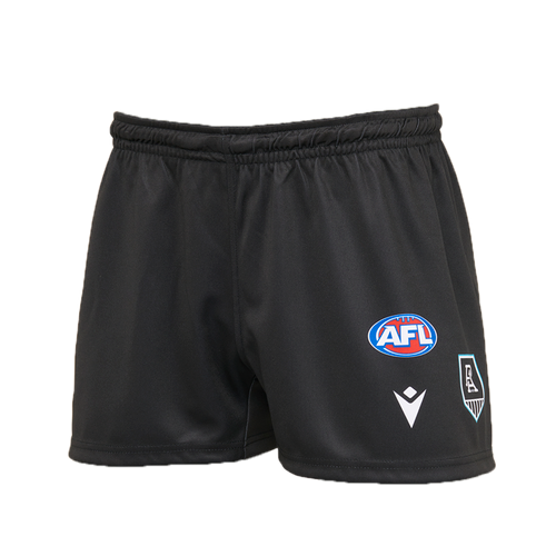 Port Adelaide Macron 2021 Home Shorts