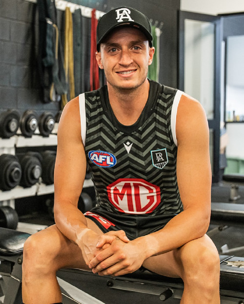 Official Port Adelaide Macron 2021 Training Guernsey