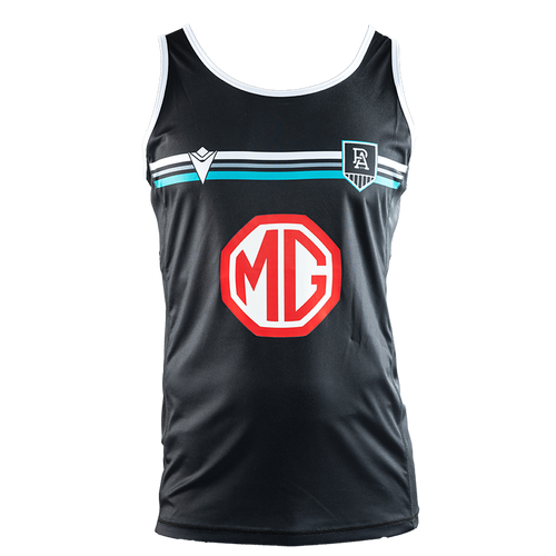 Official Port Adelaide Macron 2021 Player Training Singlet