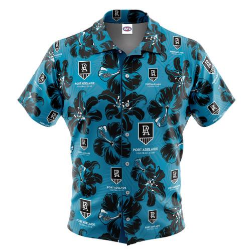 Port Adl Hawaiian Shirt - Hibiscus