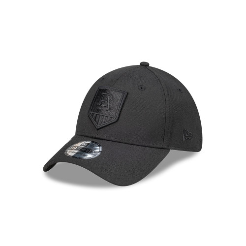 39THIRTY® PORT ADELAIDE MONO NEW ERA CAP BLK/BLK
