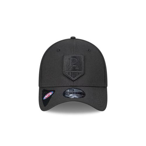 39THIRTY® PORT ADELAIDE MONO NEW ERA CAP BLK/BLK