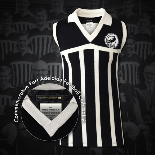 Port Adelaide Fibre Of Footy Short Sleeve Jumper