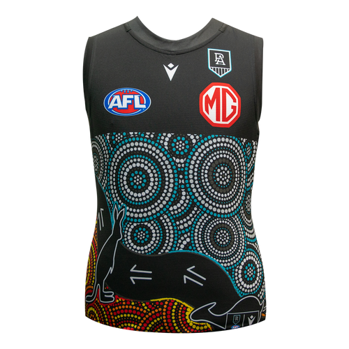 PORT ADELAIDE FC 2021 YOUTH INDIGENOUS GUERNSEY