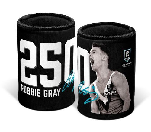 Port Adelaide Robbie Gray 250th Game Stubby Holder
