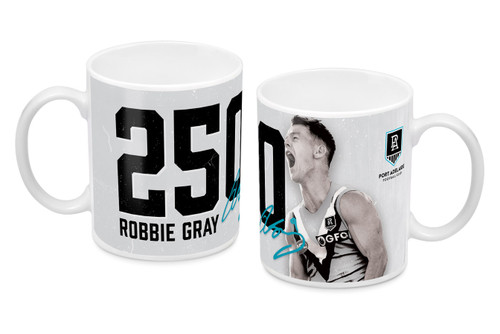 Robbie Grey 250th Game Mug