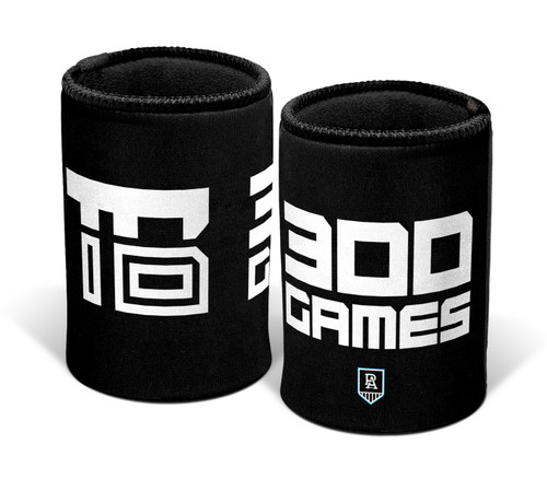 Port Adelaide Travis Boak 300th Game Stubby Exclusive Holder
