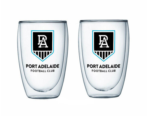 Port Adelaide Double Walled Glass Set