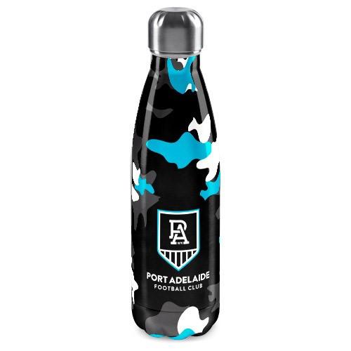 Port Adelaide S/Steel Wrap Bottle
