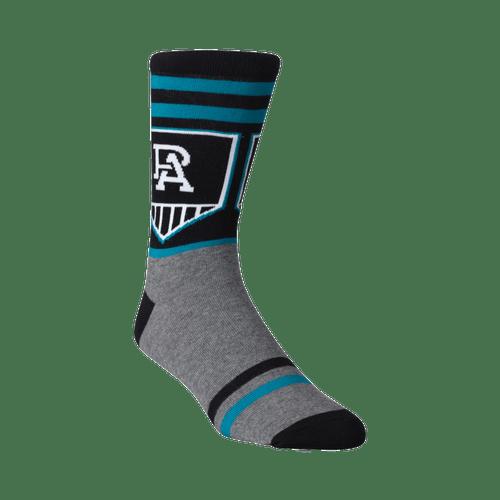 Port Adelaide Logo Sock