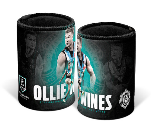 Ollie Wines Brownlow  Can Cooler