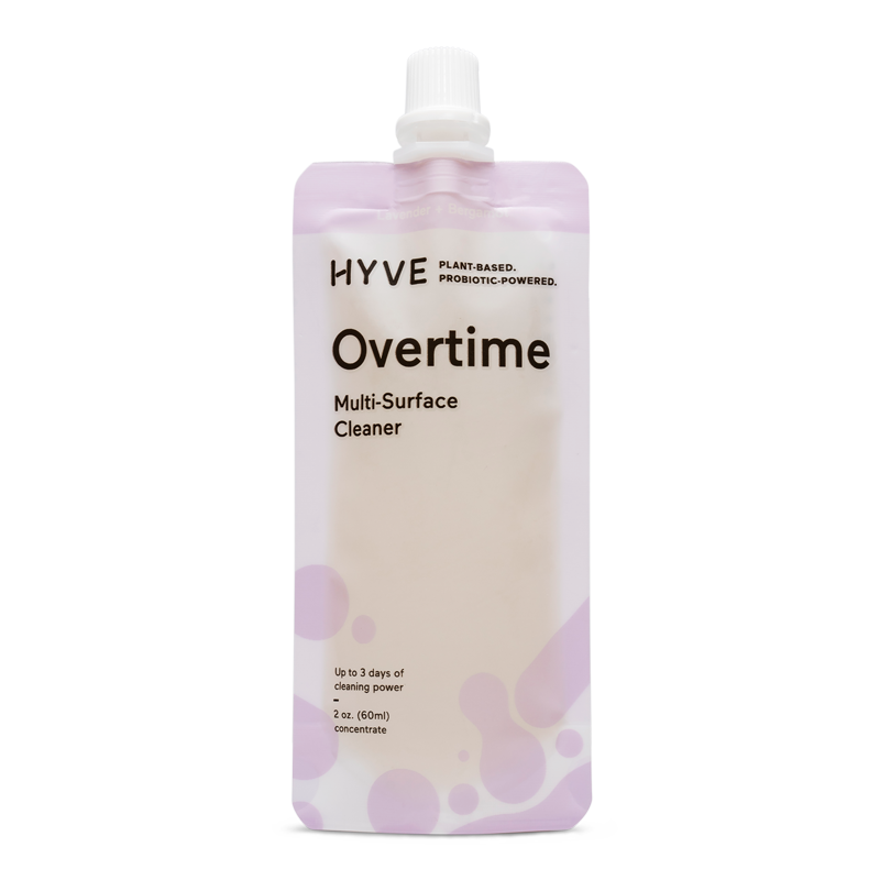 Overtime All-Purpose cleaner.  Natural, plant-based and filled with probiotics