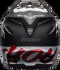 BELL MOTO-9 CARBON FLEX FASTHOUSE WRWF MATTE/GLOSS BLACK/WHITE/RED
